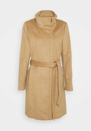 MIX COAT - Classic coat - camel