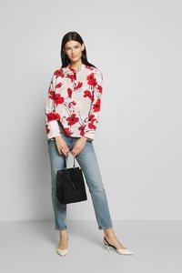 J.CREW - EIVISSA WELSH POPPY - Button-down blouse - natural cerise - 1