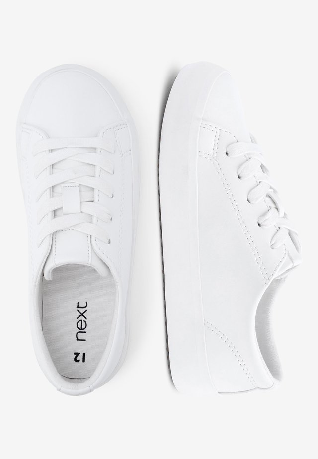 WHITE LACE-UP SHOES (OLDER) - Tenisky - white