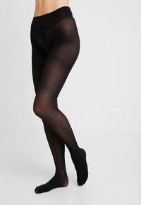 Swedish Stockings - NINA FISHBONE 40 DEN - Sukkahousut - black - 0