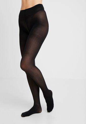 NINA FISHBONE 40 DEN - Tights - black