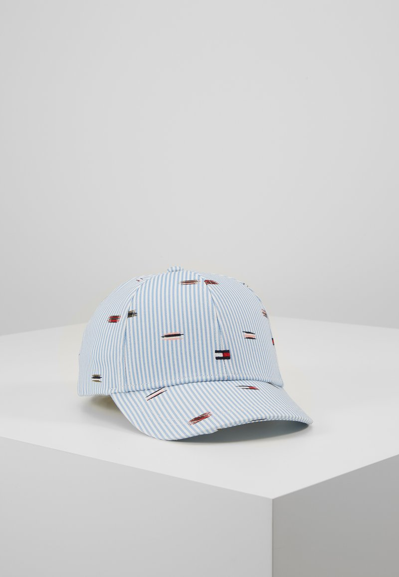 Tommy Hilfiger - EMBROIDERED FLAGS BB CAP - Kšiltovka - blue