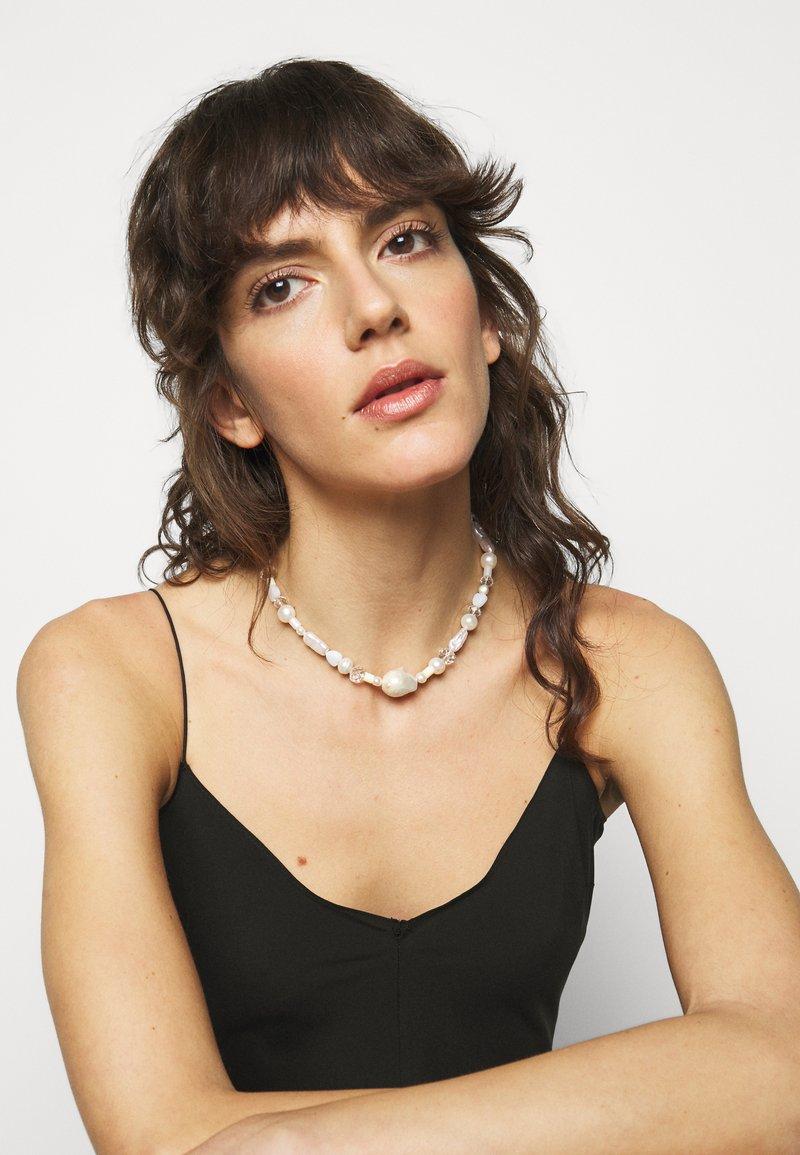 WALD - CANDY MAN TWO NECKLACE - Smykke - white