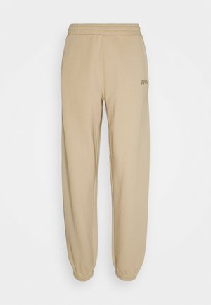 DOCTOR PANTS - Tracksuit bottoms - beige