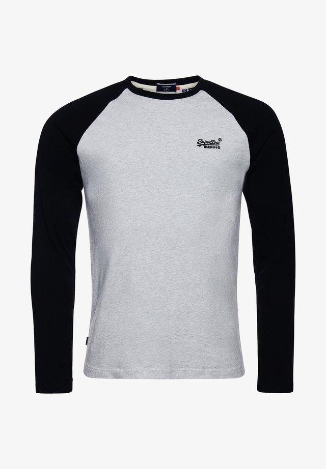 Langærmede T-shirts - off white marl