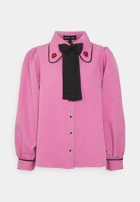 GEM PLAYER BOW BLOUSE - Košile - pink