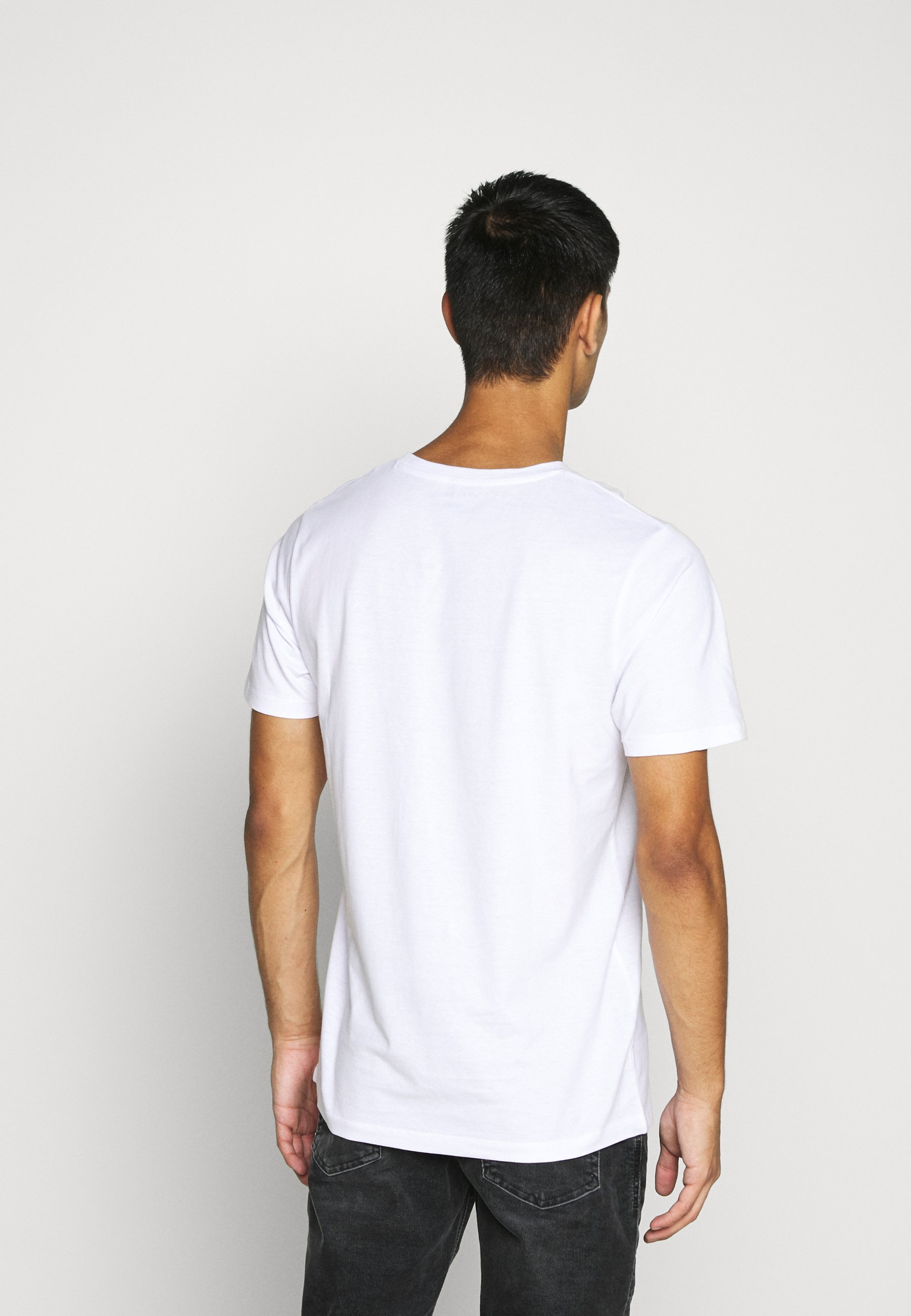 Jack & Jones GRAND - Print T-shirt - white Uu7LQ