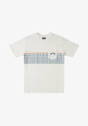 SPINNER - Camiseta estampada - off white