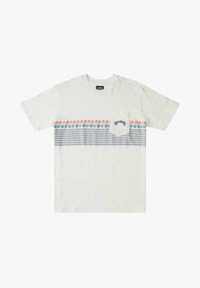 SPINNER - T-shirt print - off white