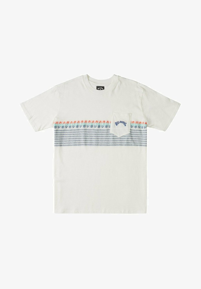 Billabong - SPINNER - Print T-shirt - off white