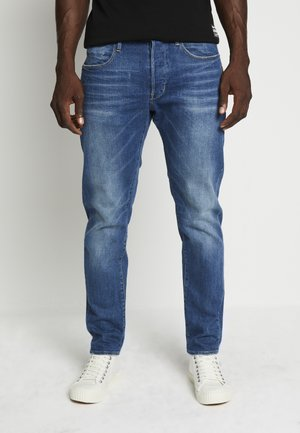 LOIC RELAXED TAPERED ANTIC FADED OREGON BLUE MEN - Jeans fuselé - antic faded oregon blue