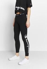 Champion - LEGGINGS - Trikoot - black - 0