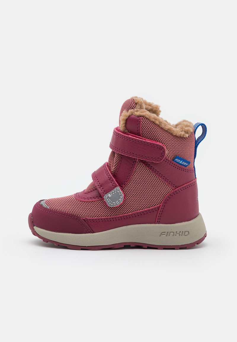Finkid - LAPPI UNISEX - Winter boots - rose/beet red