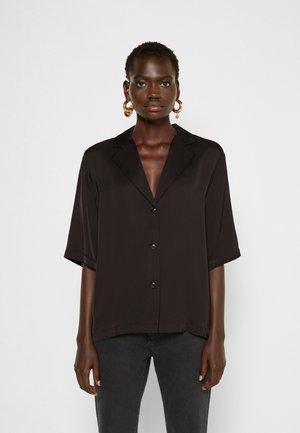 EMME  - Button-down blouse - black