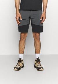 Haglöfs - RUGGED FLEX MEN - Outdoor shorts - magnetite/true black - 0