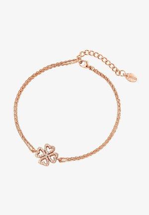 Bracelet - rose gold coloured