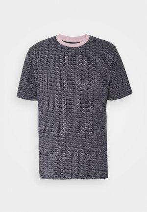 MAXEYS - Print T-shirt - dark blue