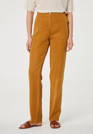 Trousers - marrón claro