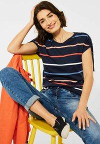 Cecil - Print T-shirt - blau - 1