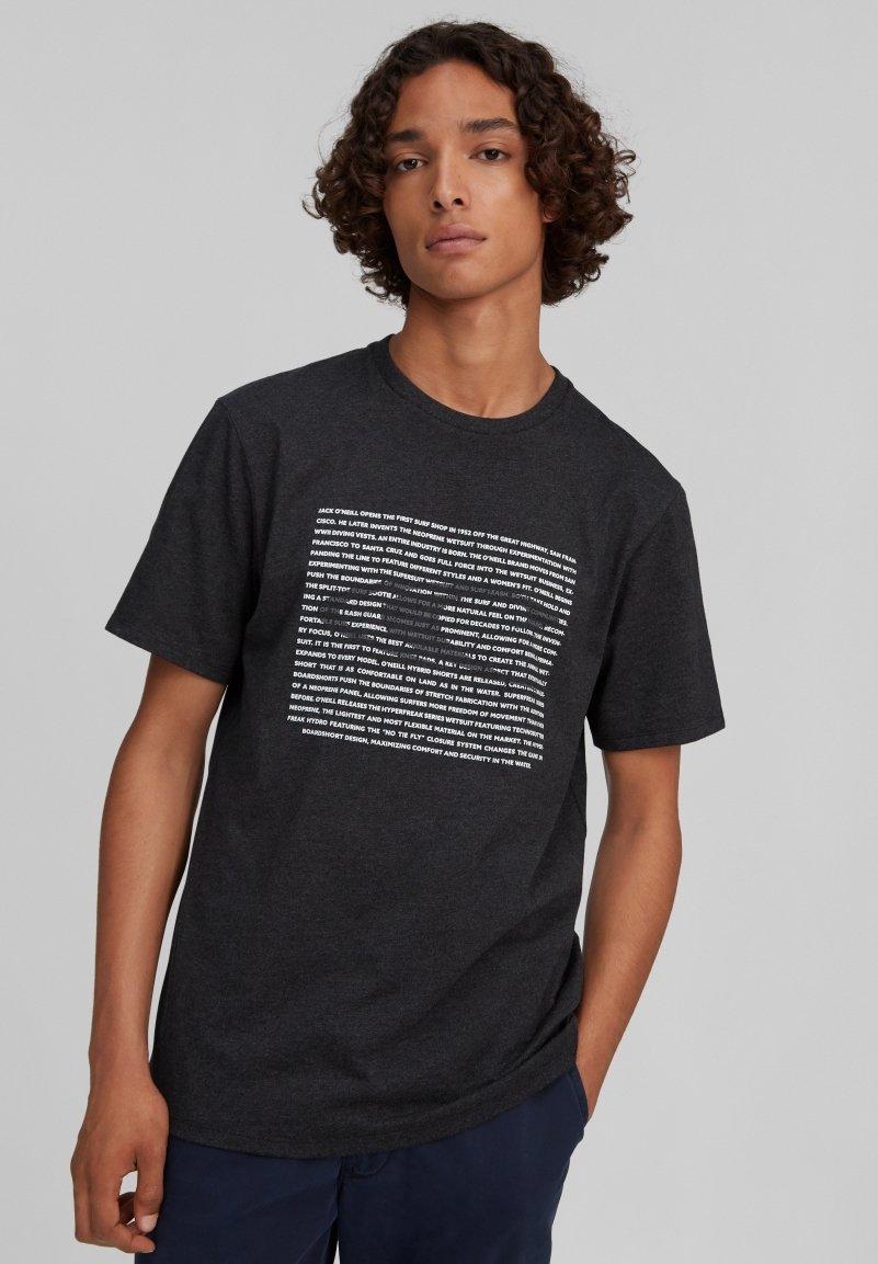 Homme TEES GRAPHIC WAVE - T-shirt imprimé