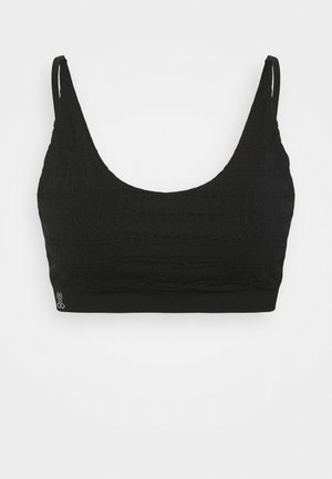 KURMA - Light support sports bra - black
