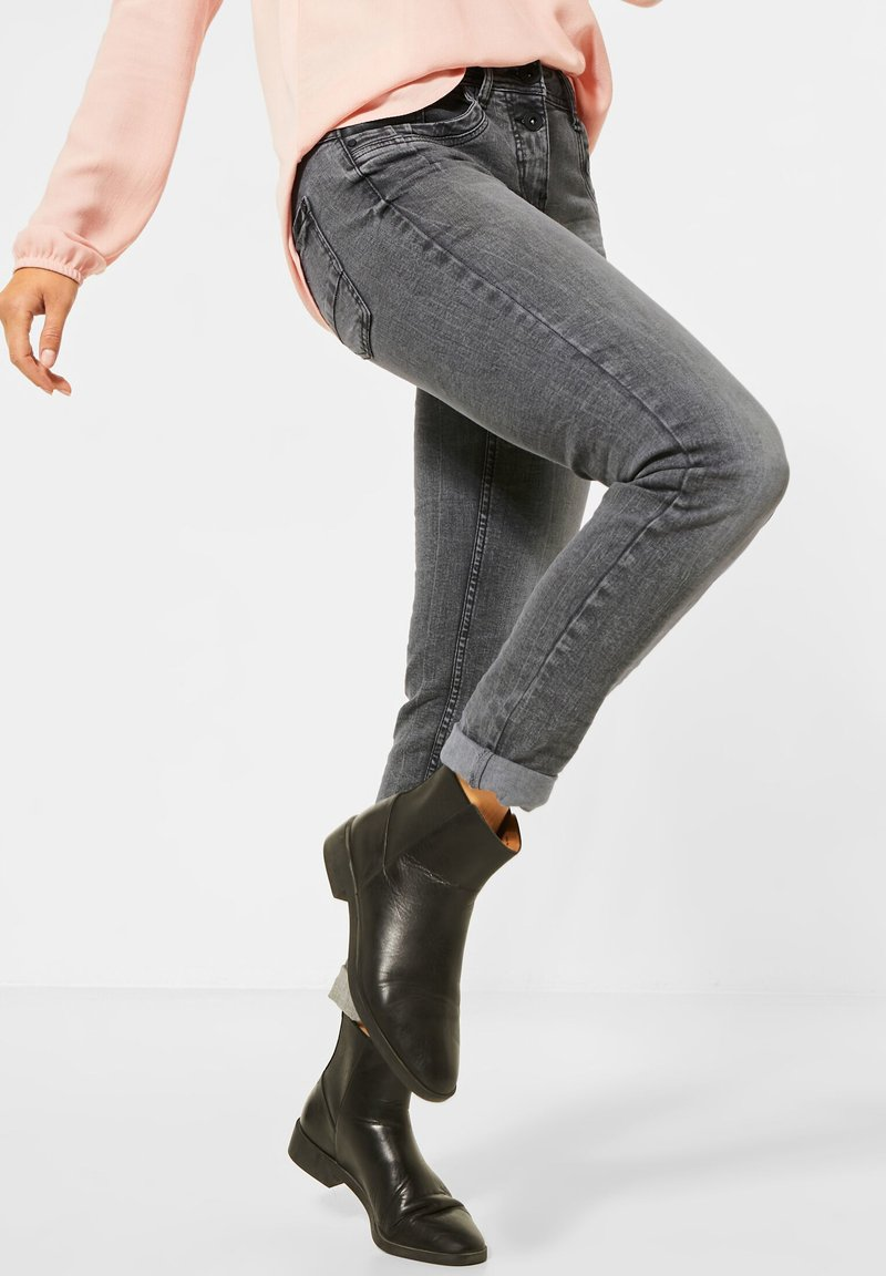 Cecil - Slim fit jeans - grau