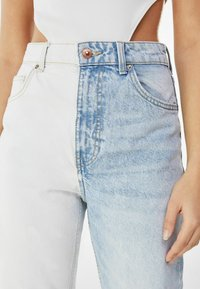 Bershka - Slim fit jeans - light blue - 3