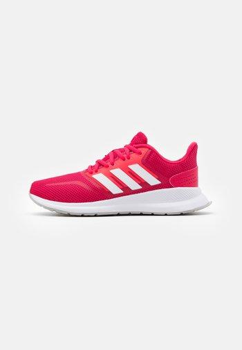 RUNFALCON - Zapatillas de running neutras - power pink/footwear white/signal pink