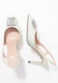 HUGO - PIPER SLING - High heels - light pastel green - 3