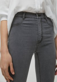 PULL&BEAR - SKINNY - Jeans Skinny Fit - dark grey - 4