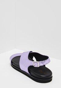 myMo - Sandalias - purple metallic - 4