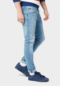 TOM TAILOR DENIM - Slim fit jeans - used light stone blue denim