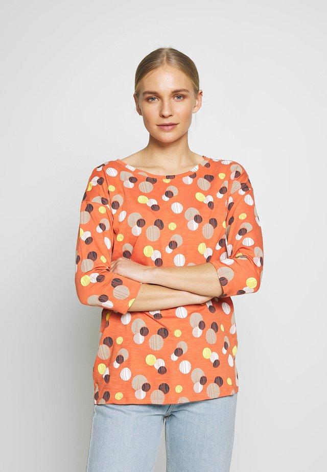 CORE - Long sleeved top - burnt orange