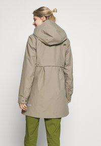 Didriksons - MIRANDA WOMEN'S PARKA - Waterproof jacket - mistel green - 2