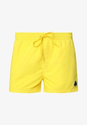 Swimming shorts - yellow/azure