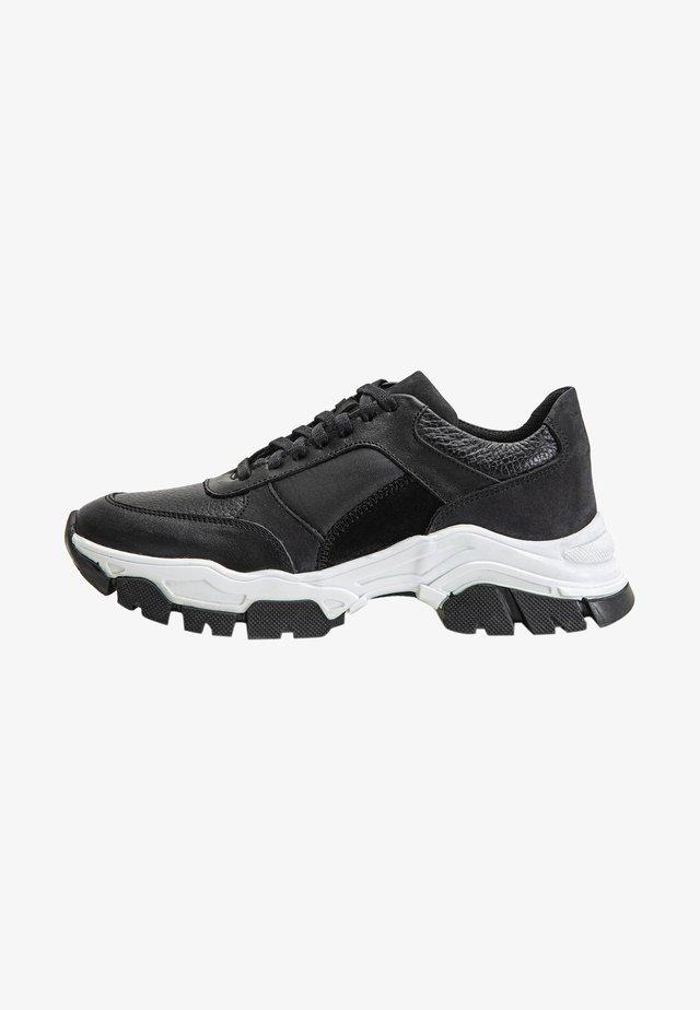Sneakers laag - black blk
