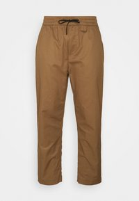 FAVE LIGHTWEIGHT STYLING - Trousers - sand