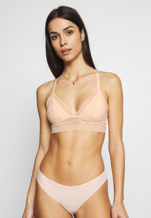 POP STRAPPY PAD - Bustier - cheeky peach