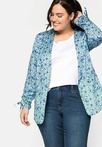 Sheego - Blazer - blue - 3