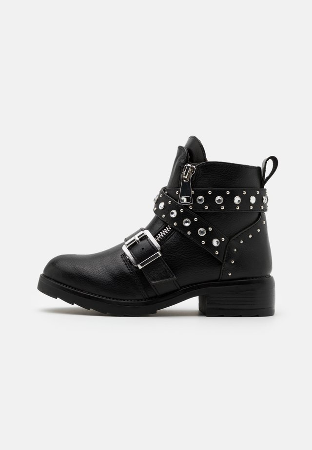 JHALSEY - Cowboy/biker ankle boot - black