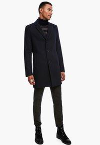 s.Oliver BLACK LABEL - IM CLASSIC SHAPE - Short coat - dark blue melange - 1