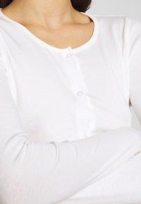 Gina Tricot - MINA  - Maglietta a manica lunga - offwhite - 5