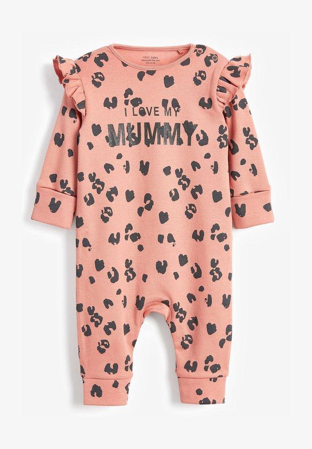 I LOVE MY MUMMY  - Sleep suit - brown