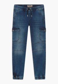 Blue Effect - BOYS JEANS - Pantalones cargo - medium blue - 0