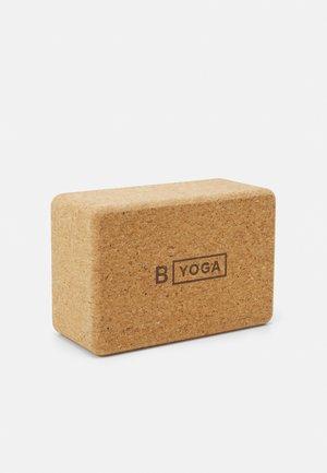 "B BLOCK 4"" 10CM - Fitness / Yoga - cork"