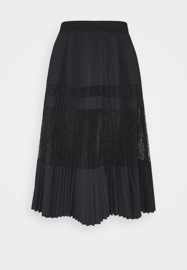 DAX - Spódnica trapezowa - black