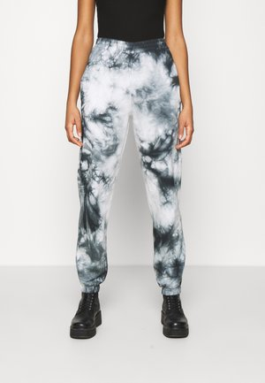 TIE DYE JOGGER - Spodnie treningowe - dark grey
