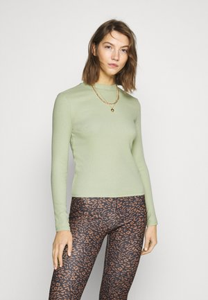 SAMINA - Long sleeved top - green dusty light