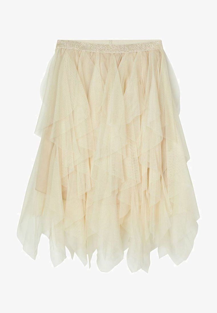 Name it - A-line skirt - brown rice