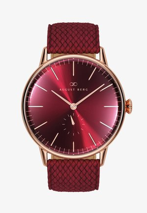 UHR SERENITY BURGUNDY EYE BURGUNDY PERLON 40MM - Watch - sunray red